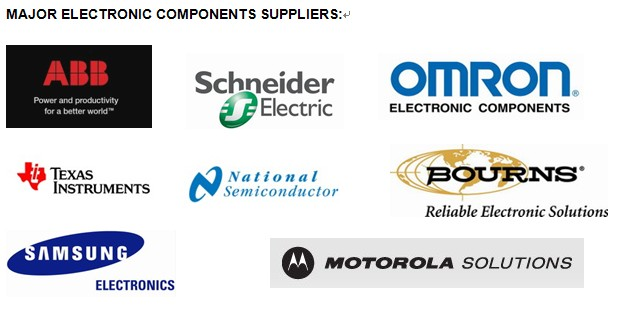 MAJOR ELECTRONIC COMPONENTS SUPPLIERS of electric actuator